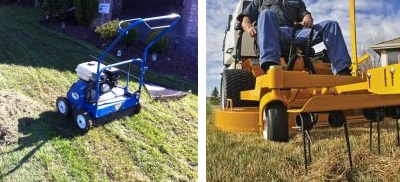 The Difference Between Power Raking and Dethatching …and When to Use Them
